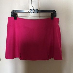 New Avia Tennis or Golf Skort Large Hot Pink